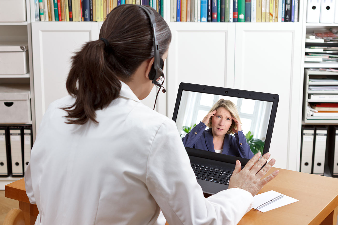 Telemedicine appointment for ENT in Boynton Beach